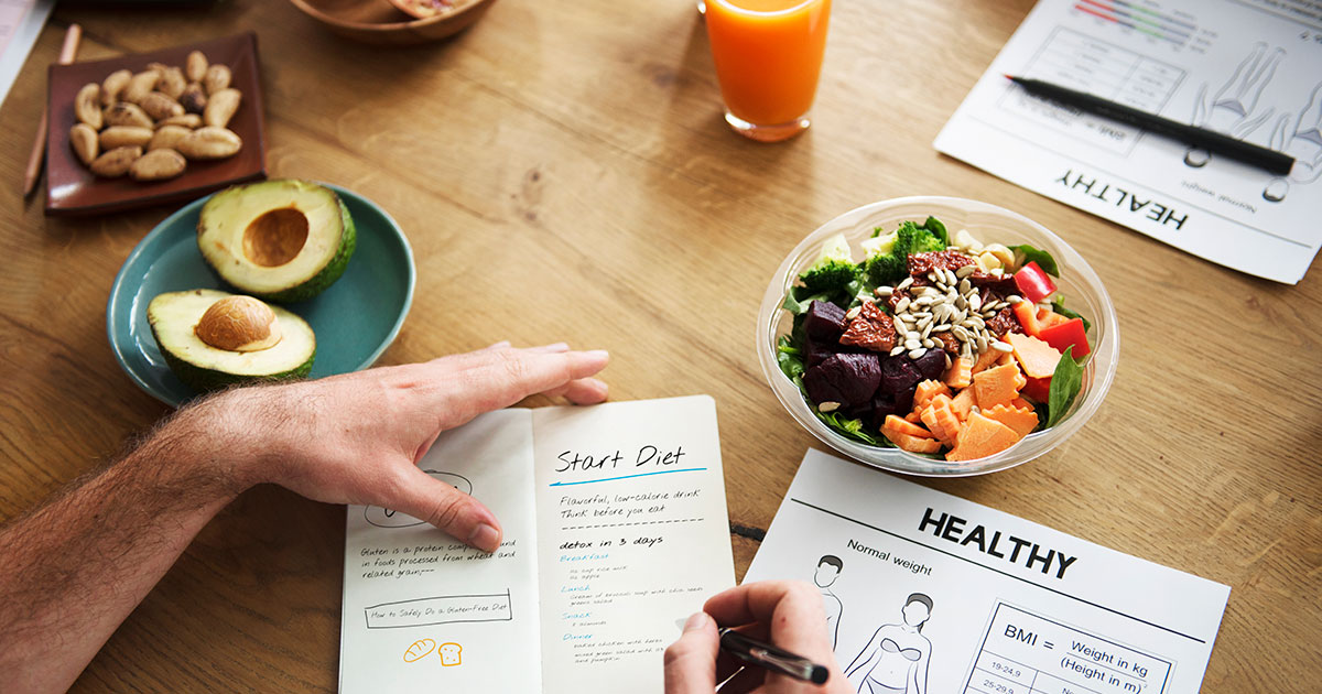 Nutrition and meal plans