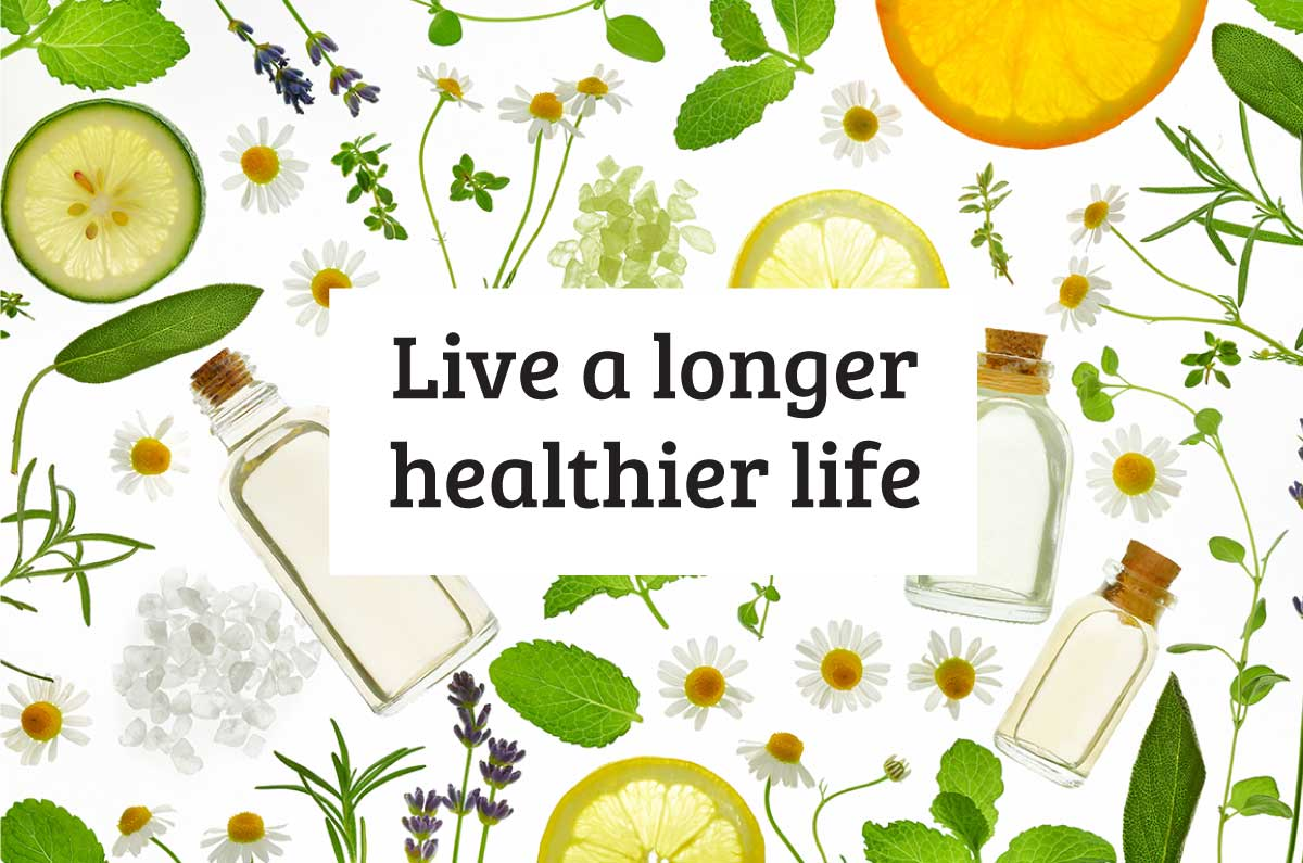 Live A Longer Healthier Life
